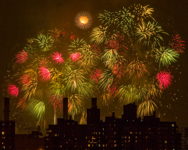 NYC 4th of July Fireworks, 2007