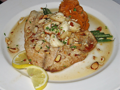 Filet of Sole Meuniere with Lump Crabmeat