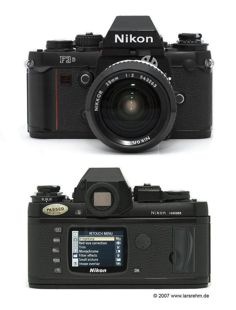 Brand new Nikon F3D - First Review