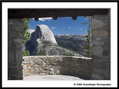 Half Dome from within the Geological Hut at Glacier Point (Herb Dunn (YosemiteJunkie)) Tags: oneofakind canon20d yosemite halfdome yosemitenationalpark nationalparks nyip beautifulscenery picturingcalifornia internationalbeauty beautifulcapture elpasojoesplace herbdunn mpixers dunnrightphotography kerncountyphotographers yosemitephotographers