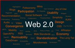 Echt web 2.0: een tagcloud