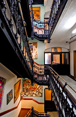 Chelsea Hotel (Sam Rohn - 360 Photography) Tags: nyc newyorkcity usa newyork architecture interesting nikon chelsea manhattan 1224mmf4g d200 nikkor locationscouting chelseahotel locationscout hotelchelsea samrohn