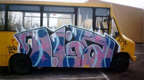 Dine graffiti