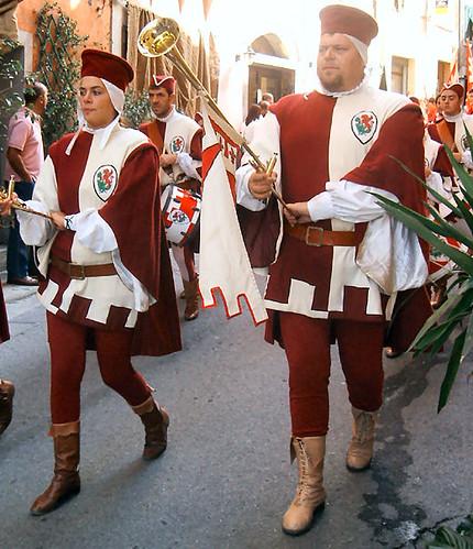 Gruppo Sbandieratori di Volterra