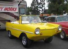Amphicar 1961 ~ 1968 (MR38) Tags: yellow german amphicar acar