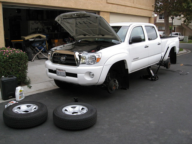 tires maintenance toyota 10k tacoma rotate