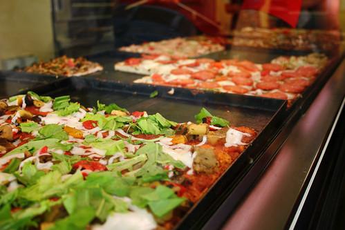 pizza by the kilogram