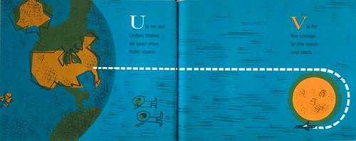 Space Alphabet: U & V