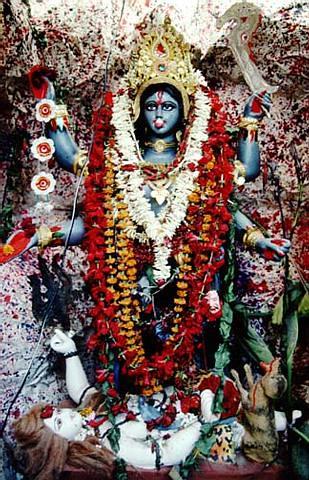 Blue Kali Pandal