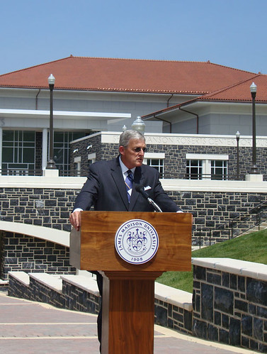 Dr. Linwood Rose, President of JMU