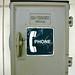 Older GAI-Tronics weatherproof telephone enclosure