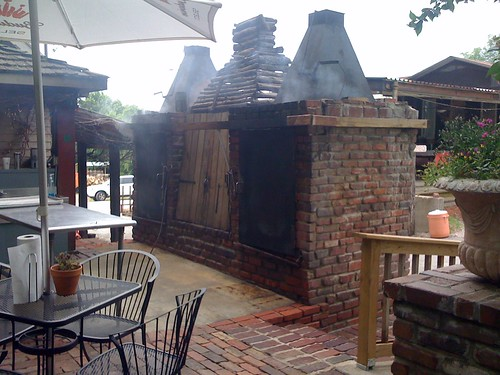 Woodyard patio