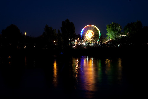 Elbe bei Nacht 2