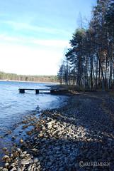 Low Tide at the summer house (Ari Helminen) Tags: lake water pier nikon lowtide summerhouse vesi mökki järvi päijänne laituri d80 nikond80