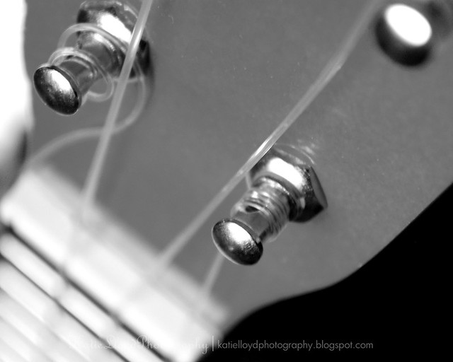 Blue Guitar B&W