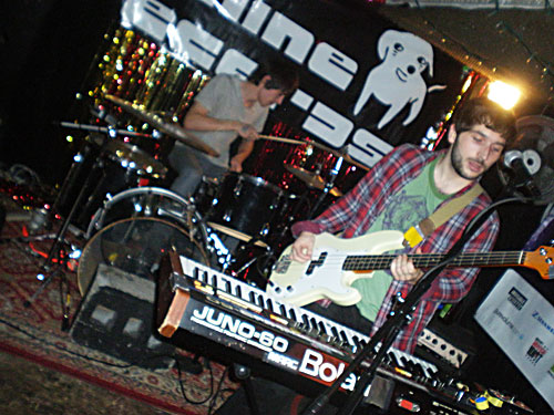 Dinowalrus at Cake Shop, CMJ, October 22, 2010