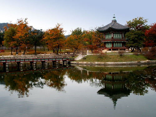 Hyangwonjeong Pavilion @ Gyeongbokgung