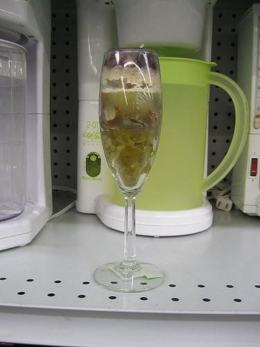 Nice tall glass of ick
