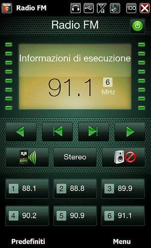 fm radio skin