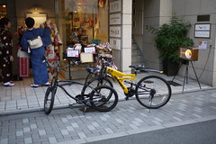 Kyoto bikes and boutique