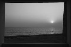 View from the Window (Ale-N16) Tags: pakistan sunset sea window karachi karachibeach