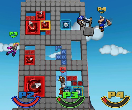 Slam Bolt Scrappers: Skyscraper