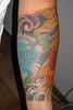 Arm koi and peonia tattoo 2 calaveraazul@yahoo.com.ar