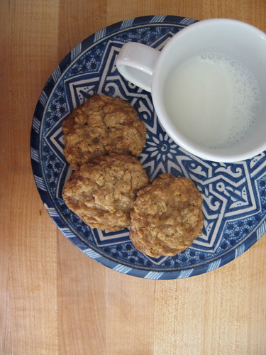 cookies and milk = dinner