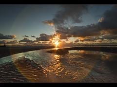 Fat flare, Crosby beach, Explore frontpage (Ianmoran1970) Tags: light sky cloud beach wet sand boots explore flare gt fp frontpage crosby muddyboots explored ianmoran ianmoran1970