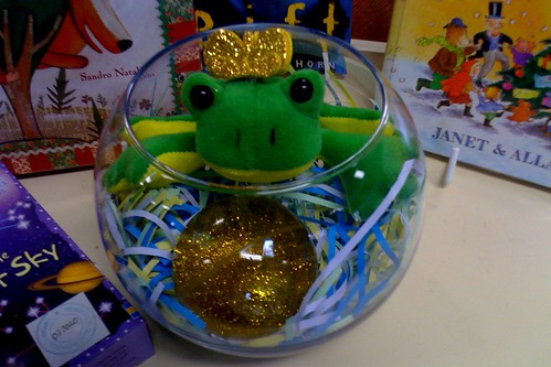 Frog Prince & golden ball