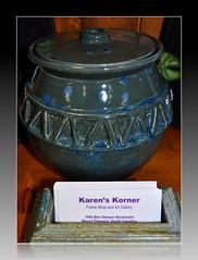 Matt Hunnicutt Pottery @ Karen's Korner (cathyhunnicutt) Tags: 2 holiday art sc photography gallery december mount gifts pottery jewlery karens pleasant korner