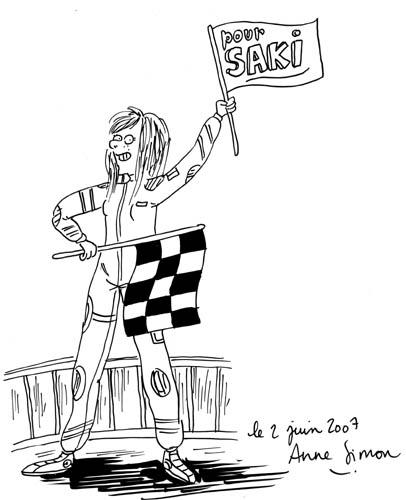 Anne Simon - Pour l'honneur d'un coureur - Montpellier 2007