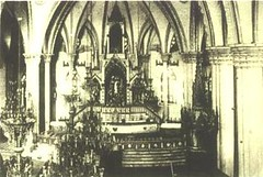 Nave of Santo Domingo - Intramuros (La Gran Seora de Filipinas) Tags: our heritage beauty lady del de la shrine icons catholic dominican faith philippines religion saints culture grand icon holy most national rosario rosary naval domingo santo procesin la santo naval manila domingo
