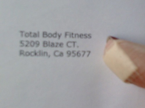My Day: failed blood donor, mailed registration for 1st race of 2011!