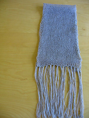 stockinette stitch scarf