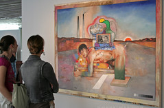documenta 12 | Juan Davila / Untitled | 1986 | Aue-Pavillon