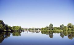 Wide Angle Dam - by compscigrad