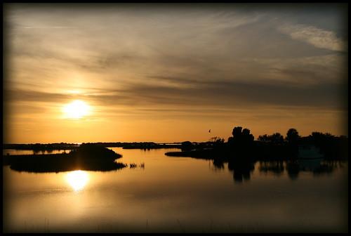 Cedar Key, FL Sunset 123006
