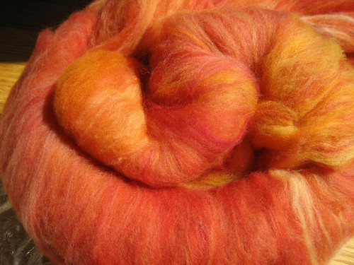 Miss Babs SW Merino batt in Sunrise!
