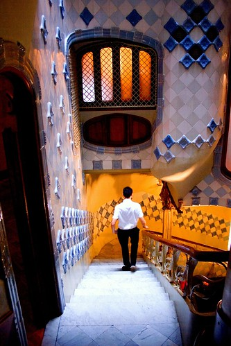 Casa Batllo--In Explore on July 4th! (Photo by papalars)