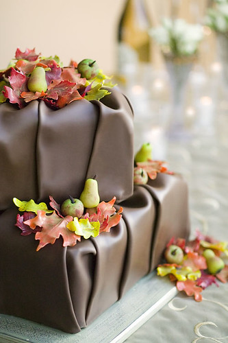 Fall Chocolate Drape