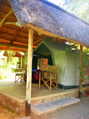 Safari Tents at Maramba River Lodge