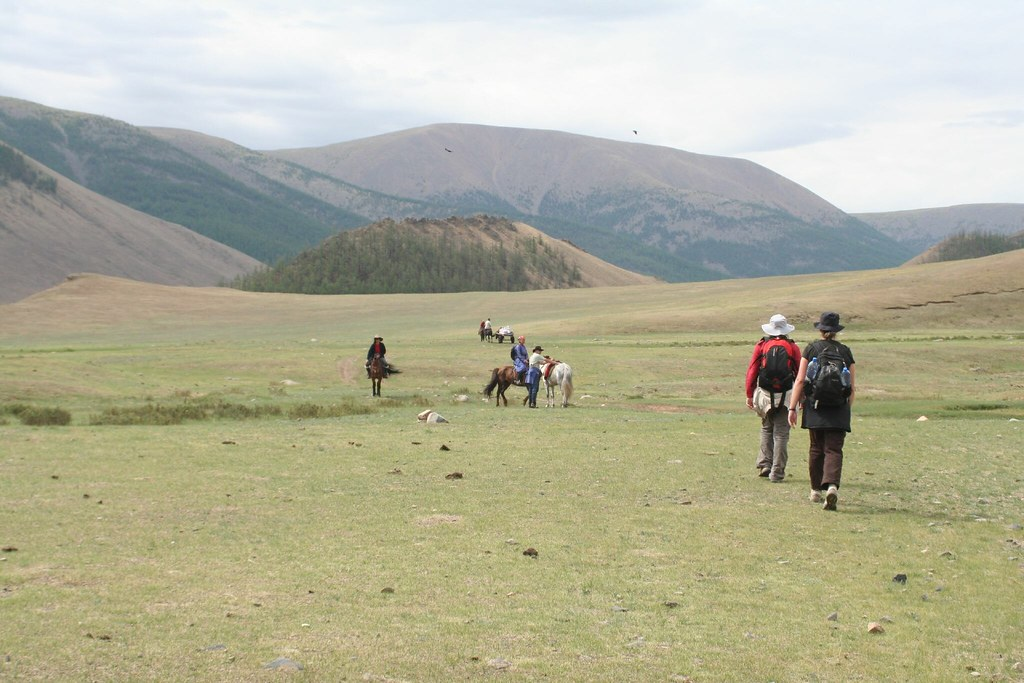 Trekking in Central Mongolia