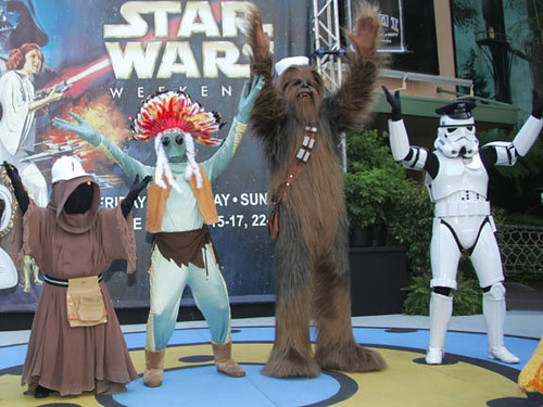 2007 Disney Weekends #3: Dance Off by The Official Star Wars, on Flickr