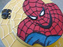 Spiderman Cake 1 (rosey sugar) Tags: cake decoration celebration sugarcraft spidermancake