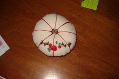 Pincushion from Cheryl