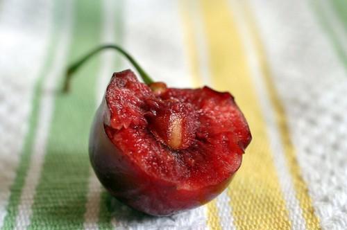 bitten cherry