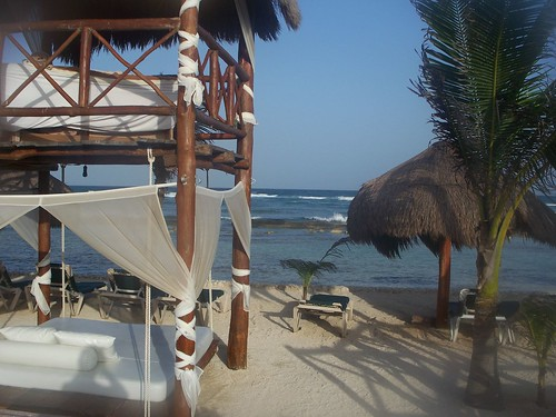 Playa privada del Hidden Beach Resort