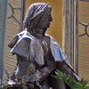 Piton professzorra hajazó szobor (közeli)  / Snape alike statue (close up) (ssshiny) Tags: statue hp hungary harrypotter piton snape pécs szobor magyarország franzliszt severussnape lisztferenc perseluspiton