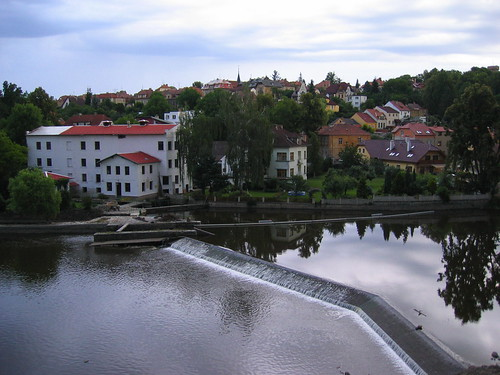 The weir in Tabor